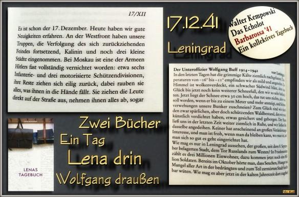 Bücher im Dialog - Echolot und Lenas Tagebuch... hier zum Artikel